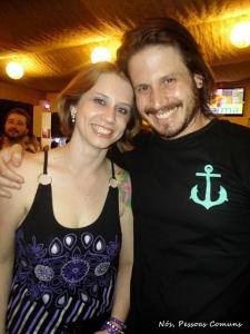 Janaina e seu irmão Lucas